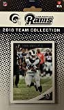 Los Angeles Rams 2018 Donruss Factory Sealed NFL Football Complete Mint 12 Card Team Set with Jared Goff, Todd Gurley, Marshall Faulk, John Kelly Rookie Card plus