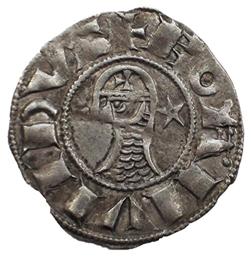 TR 12th-13th Centuries A.D. Medieval Crusader Knights Antique Middle Ages Silver Coin of the Crusades Denier Good