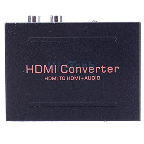simply silver - 1080P HDMI to HDMI + Audio SPDIF L/R Extractor Adapter for Google Chromecast US by Simply Silver (Image #1)