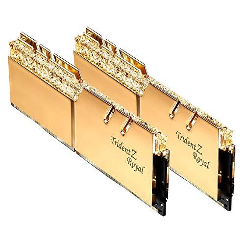 DDR4 3200Mhz DIMM CAS 16 F4-3200C16D-32GTZR G.SKILL TridentZ RGB Series 32GB 2 x 16GB