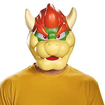 Disguise Men's Bowser Costume Mask - Adult, Multi, One Size