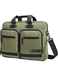 Samsonite Madagascar Slim Laptop Briefcase - Olive/Black