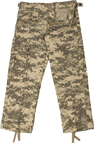 Army Universe Kids ACU Digital Camouflage Military Army BDU Pants Fatigues Pin (L - Size 14-16)