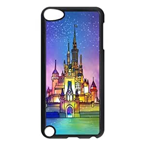 Design Case Cute Disney Castle Print on Hard Plastic Back Case Cover Ipod touch 5 Case Perfect as Christmas gift(3)