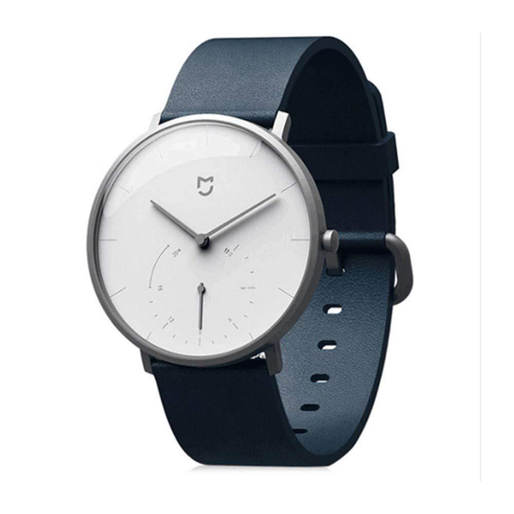 Brazalete reemplazo para Hombre y Mujer de Cuero Pulsera Cuarzo Strap Reloj de clásico Cadena Elegante Bandas de Suave Wristbands Inteligente Correa: ...