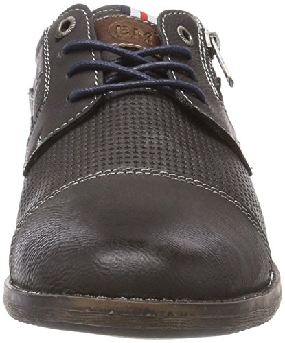 4811705 Stringate Grau Uomo Scarpe Supremo Coal Derby 08nH11xw