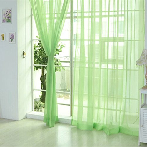 uxcell Curtains curtains Curtain Organdy