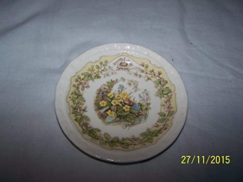 Royal Doulton Brambly Hedge Spring small plate or coaster - Jill Barklem - CP1300 Royal Doulton Brambly Hedge