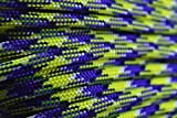 BoredParacord Brand Paracord/Parachute Cord 7-Strand, 550 Lb. Break Strength Guaranteed U.S. Made, Type III - Neon Nightmare (50 feet)