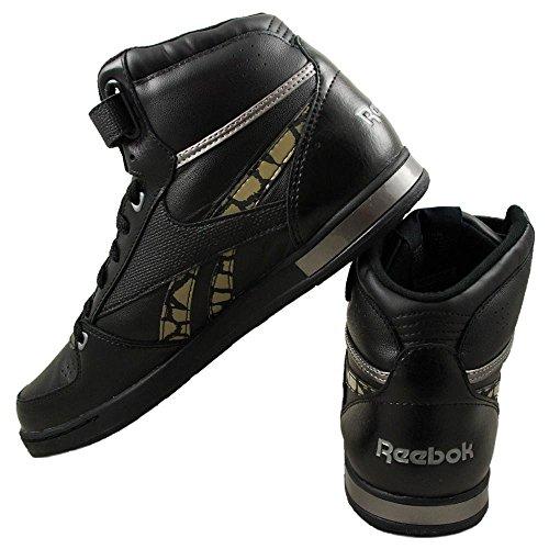 Reebok - CL Hialeah Mid - J21174 - Couleur: Noir - Pointure: 38.5