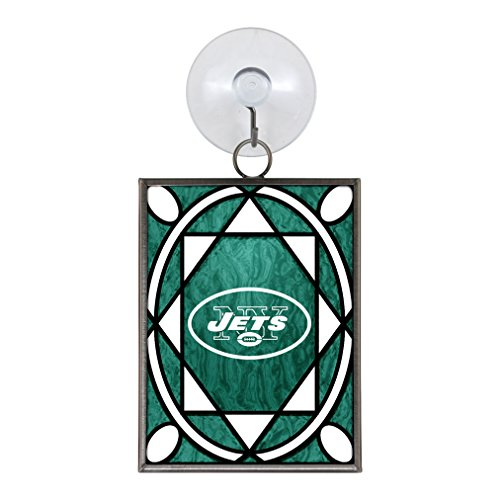 (NFL New York Jets Stained Glass)