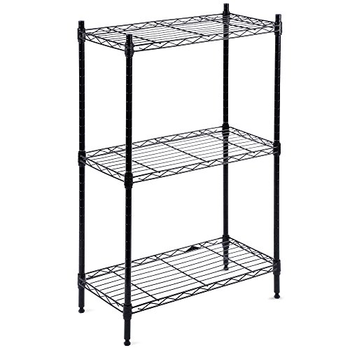 Stainless Steel Wire Shelving | 3 Tier Stainless Steel Wire Shelving Unit Adjustable Display Shelf