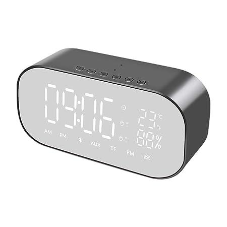 HDLWIS Despertador Digital, Radio Reloj Despertador sin ...