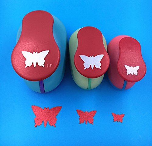 Butterfly Paper Punch - TECH-P Creative Life 3 PCS (1.5