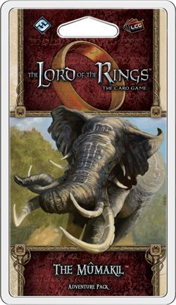 The Lord of The Rings LCG- The Mumakil Adventure Pack Game