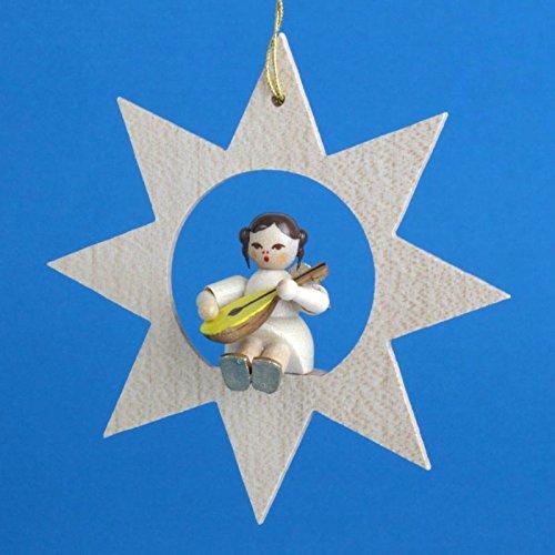 Richard Glaesser Star Angel Mandolin Christmas Ornament ()