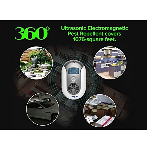 ZooArts Electronic Insect Mosquito Killer Eliminates Most Flying Pests Perfect for Indoor Outdoor Home Traveling by ZooArts (Image #2)