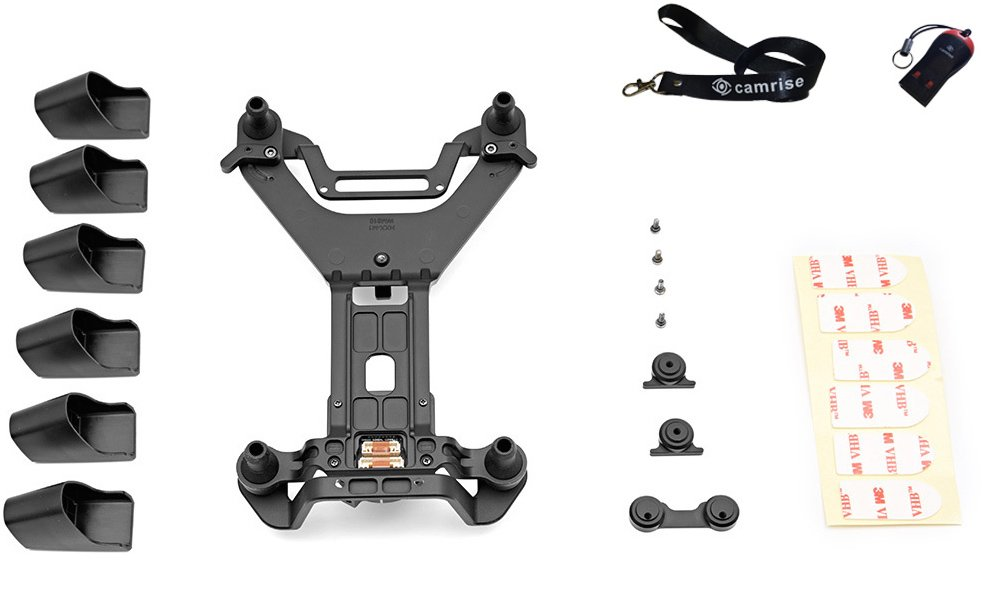 DJI Zenmuse X5 Vibration Absorbing Board Kit, Includes Camrise Lanyard and Camrise USB Reader