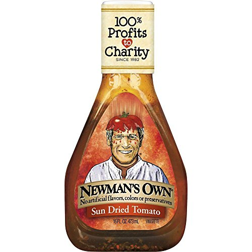 - Newman's Own Sun Dried Tomato Vinaigrette, 16 oz (Pack of 6)
