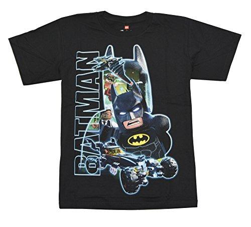Lego Batman Group Youth Boys Black T-Shirt
