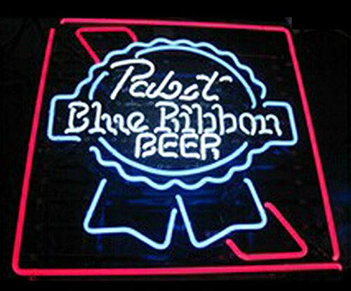 Super Bright! New Pabst Blue Ribbon Sign Handcrafted for sale  Delivered anywhere in Canada