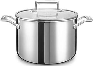 KitchenAid KC2T80SCST Cooking Pot Stainless Steel 24X 24X 13cm Silver