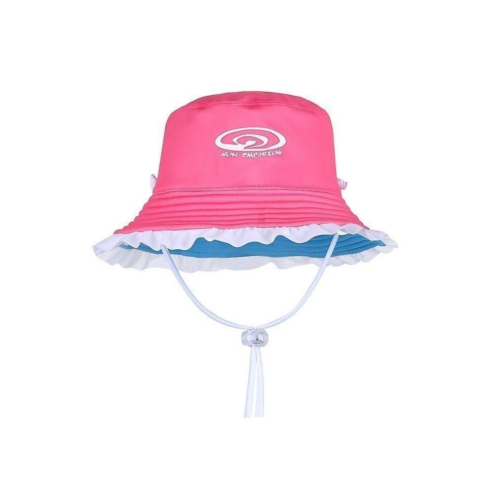 Girls Brim Hat with Frills