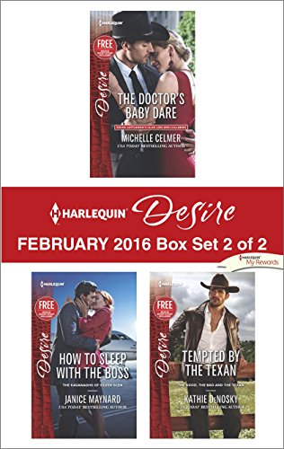 book cover of Harlequin Desire February 2016 - Box Set 2 of 2