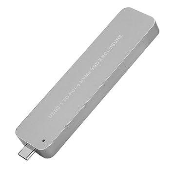 ASHATA Carcasa de Disco Duro Externo USB 3.1, Telescópica ...