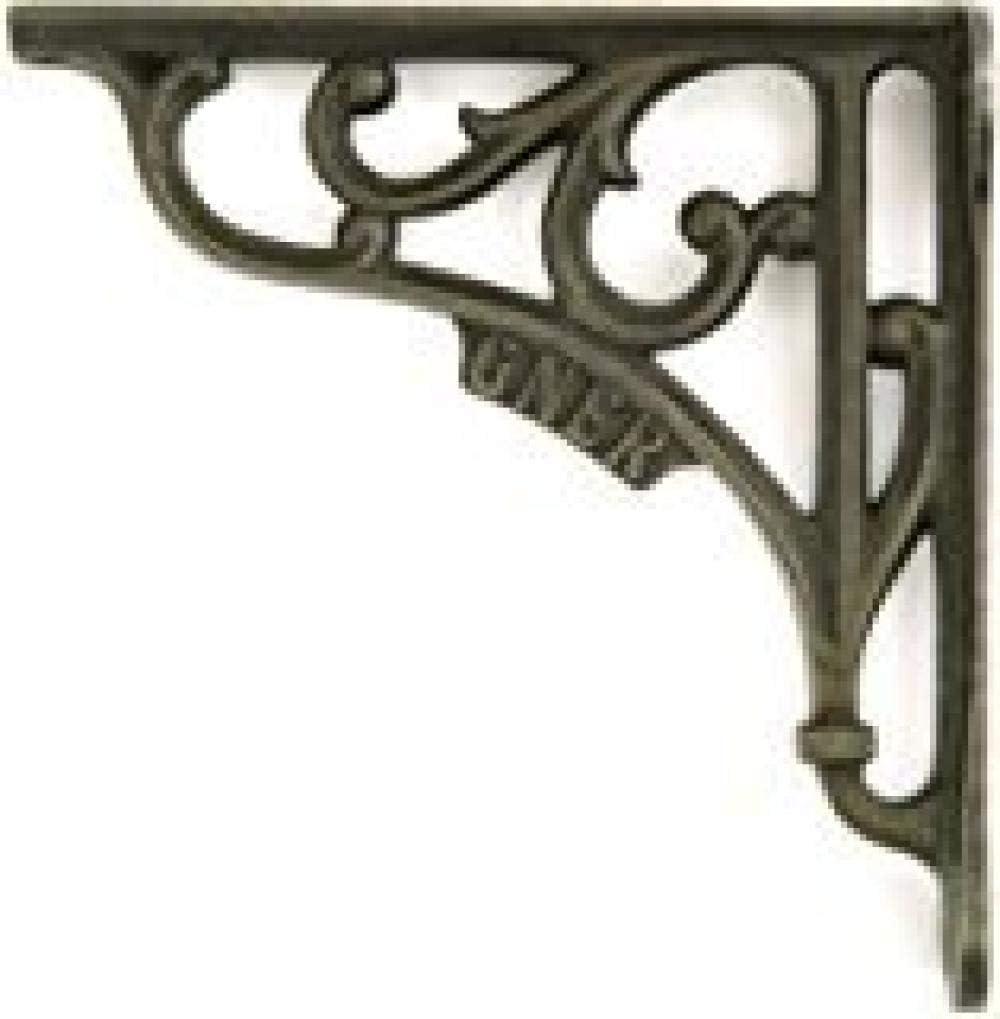 1xPair 6 Soporte de pared Herraje de estante de hierro fundido