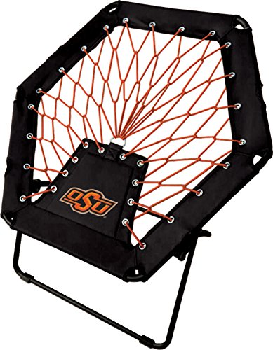Imperial Officially Licensed NCAA Furniture: Basic Bungee Chair, Oklahoma State Cowboys