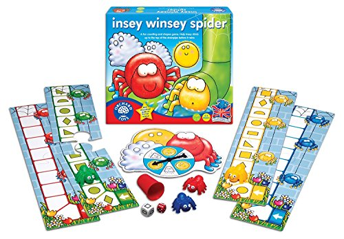 Itsy Bitsy Insey Winsey Spider My First Board Game Ages 3-6