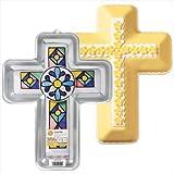 Wilton CROSS RELIGIOUS CAKE PAN Faith First Communion Celebration Baptisim