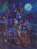 "Scooby-Doo and Gang in House Swarming Ltd Print Matted to 8"" x 10"" -  Hanna Barbera"