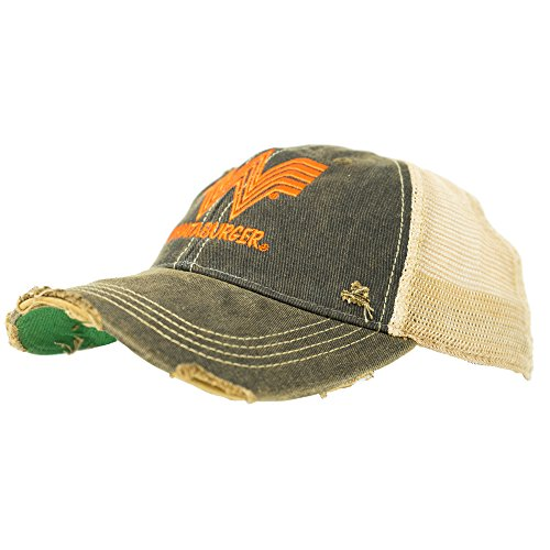 Original Retro Brand The Mens Whataburger Hat  One Size  Black Cream