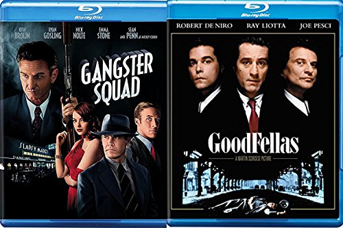 Goodfellas & Gangster Squad [Blu-ray] 2 Pack Mob Crime Movie Set