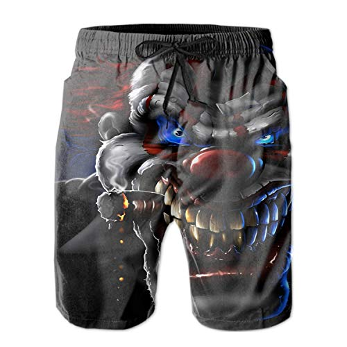 Men's Swim Trunks Quick Dry Bathing Suits Evil