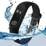 M2 Bluetooth Intelligence Health Smart Band Wrist Watch Monitor Smart...