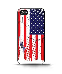 Customized LO.O Case Apple Iphone 5/5s Case - Poster of Usa