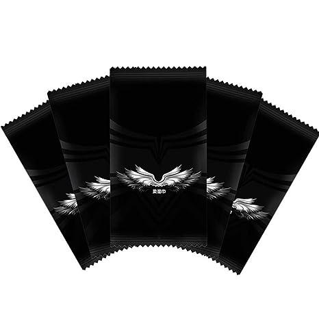 KunmniZ - Toallitas húmedas de tela no tejida, 1 unidad, toalla de viaje,