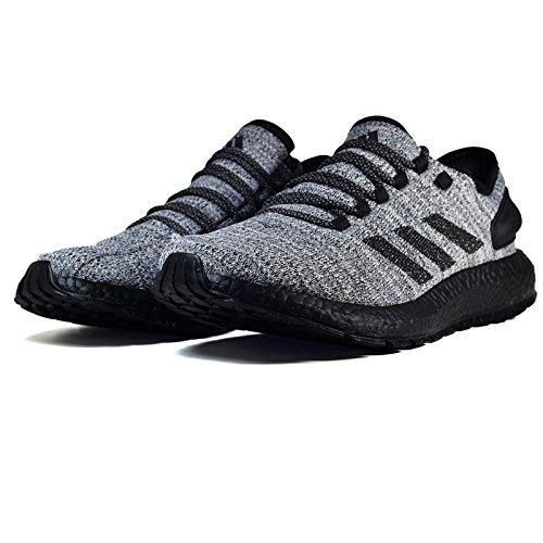 Adidas Heren Pureboost Atr Loopschoen Wit / Zwart / Grijs