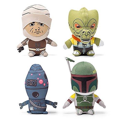 Comic Images Star Wars Boba Fett, IG-88, Dengar, Bossk Mini Bounty Hunter 4.5