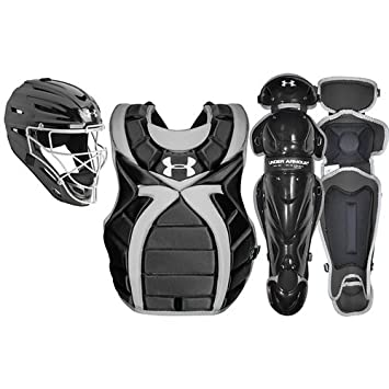 under armour youth catchers gear. under armour girls\u0027 victory series catcher\u0027s set youth catchers gear