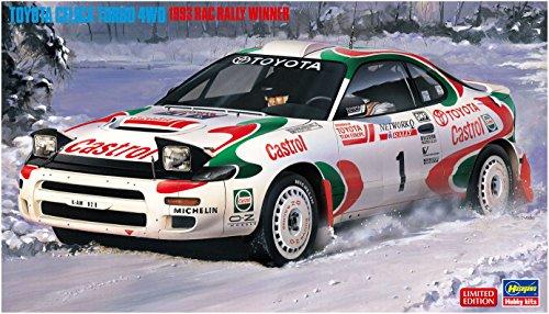 Hasegawa 20358 Toyota Celica Turbo 4WD '1993 RAC Rally Winner' 1/24 Scale kit