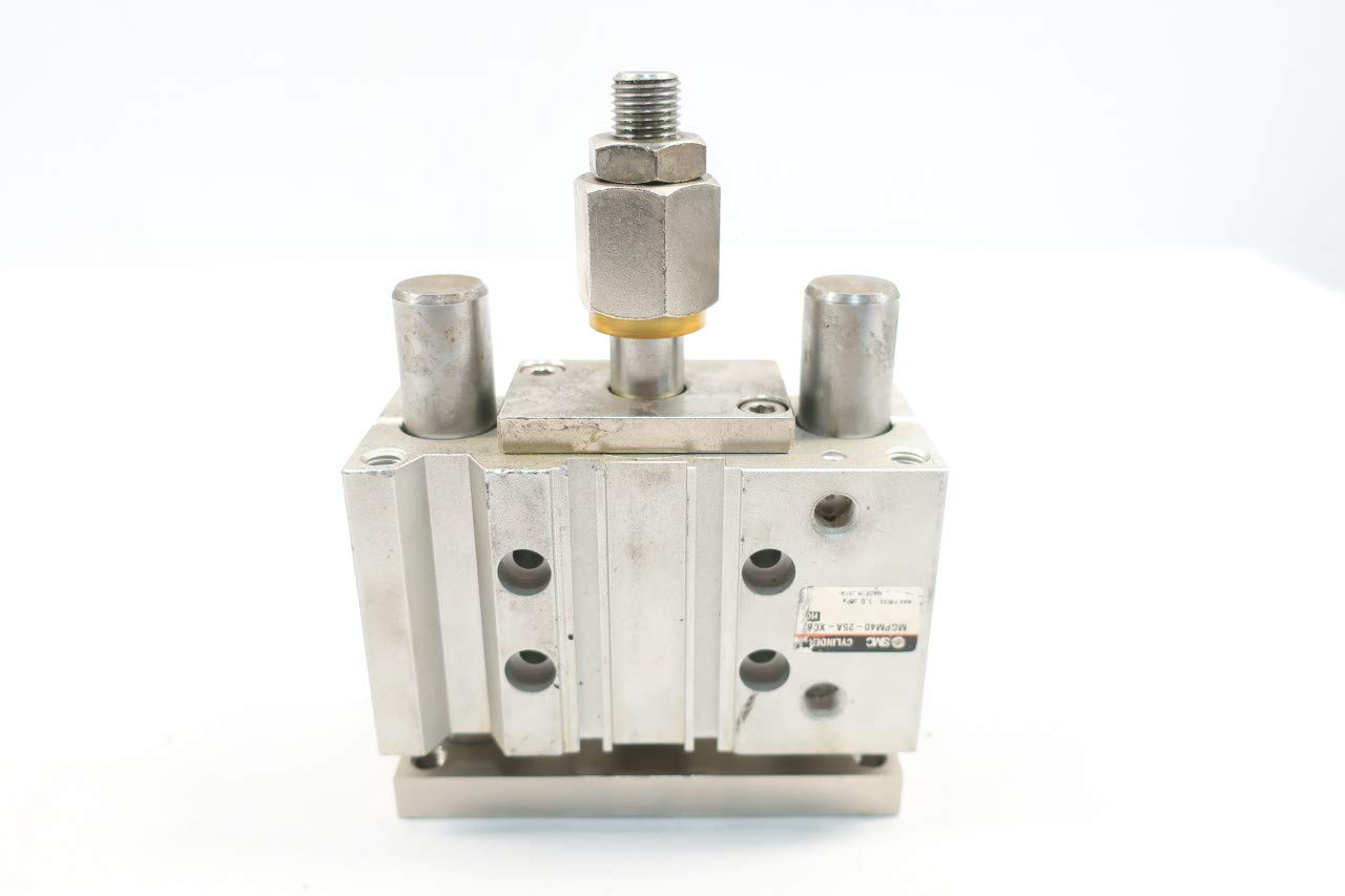 SMC MGPM40-25A-XC8 Guided Slide Cylinder 40MM 1//8IN 1MPA 25MM
