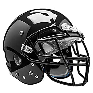 Schutt Sports Vengeance VTD II Football Helmet without Faceguard, Black, Small