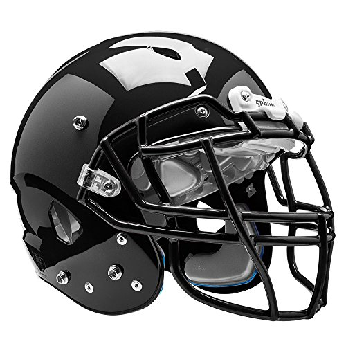 - Schutt Sports Vengeance VTD II Football Helmet Without Faceguard, Black, Large