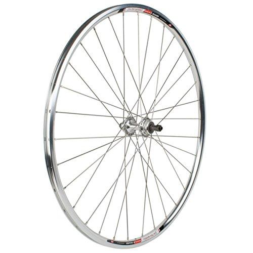 Sta-Tru Silver Alloy Freewheel Hub Rear Wheel (700X20) -