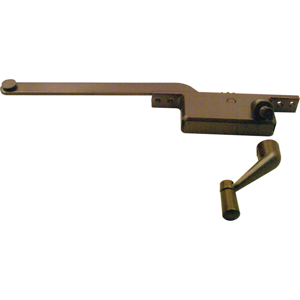 Prime-Line Products H 3522 Casement Operator, 8-Inch Square Type, Right Hand, Bronze