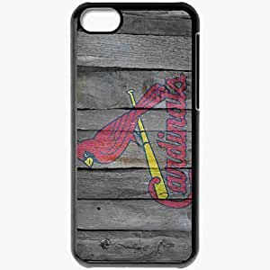 Personalized iPhone 5C Cell phone Case/Cover Skin 15057 st louis cardinals 1 by oultre d3ecjxs Black
